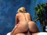 Dirty blonde chick Megan Sweetzs poontang licked and banged