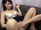 Fingering pussy through her panties