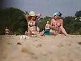 Girls on beach 63