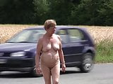 Claar nude walking