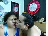 Lesbians+bbws shots
