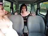 SUGARBABESTV: Sofia Pavlidi in Greek Taxi