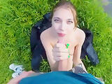 Young Russian Beauty Swam in The Lake and Gets Fucked Outdoors