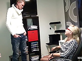 German Mature Seduce Big Dick Personal Trainer to Fuck