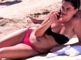 Big Boobs Hot Bikini Babes Beach Voyeur SPY Hidden Cam Video