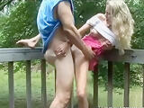 Outdoor Married Couple Fucking and Sucking