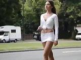 Mini Skirt hot babe
