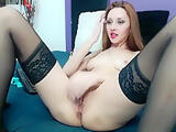 tinny red rose Patrici.anal play dildo fingers 2