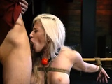 Extreme anal strap on This unsuspecting super-bitch truly