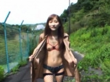 Naughty maiden Chika Eiro who likes to fake penis her cherry