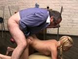 Stupefying russian blonde diva behaves like whore
