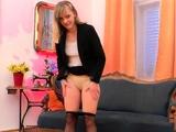 Blonde amateur gobbles