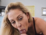 partners friend makes mom fuck Cherie Deville in