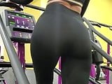 Perfect View of PAWG At Gym
