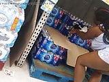 Beautiful Black Girl at Walmart