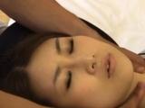 Angelic Rika Araki enjoys sex with a random dude
