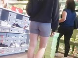 Yoga shorts leggins tight ass