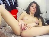 Pretty 01DeluxeBya fingering her pussy