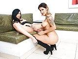 MAMACITAZ - Latina Lesbian Fun - Anette Rios & Camila Santos