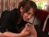 Nipponese floozy Saki Kouzais muff licked well
