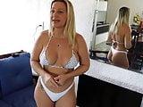 Angelica biquini branco