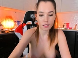 Very Hot Amateur Redhead Teen fucked by a caveman on Webcam