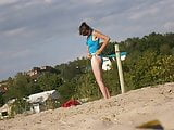 Girl on beach 24