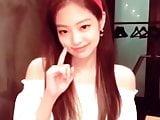 Korean celeb jennie so cute with lisa