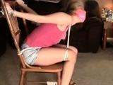 Beautiful teen blonde bdsm femdom revenge