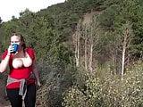 EXPOSED Kimberly Smith of Pueblo Colorado public hiking tits