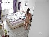 25-04. Hot mom masturbates bathroom & dressing in bedroom