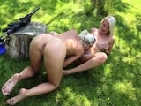Blonde granny anal hd and lesbian recipe first time Naked