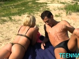 Kinky russian sweetheart Devon gets juicy tits played