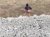 Indian desi Girl Outdoor Piss