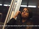 Women Staring at My Bulge Flash While Riding The Bus
