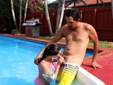 Teen orgy first time Swimming In Semen
