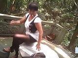 Chubby MILF Asian Prostitute Bareback Outdoors