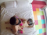 Intense love with strong and loud orgasms CAM 1/2 overhead
