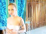 Fabulous Amateur video with POV, Blonde scenes